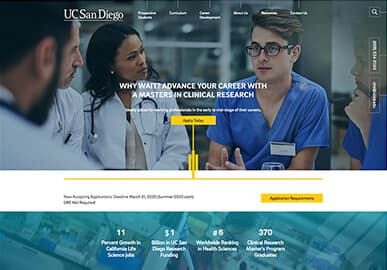 UCSD CLRE Website