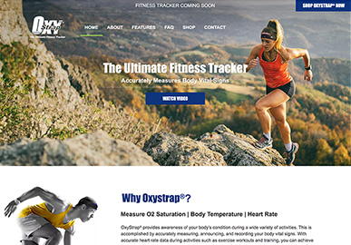 Oxystrap Website